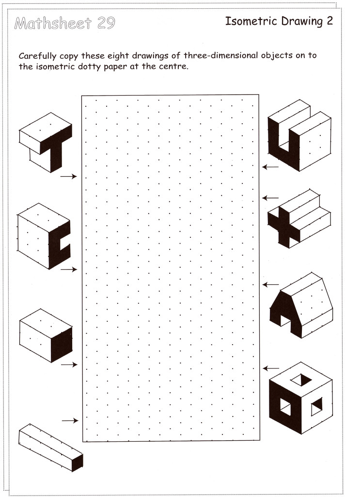isometric shapes worksheet. Black Bedroom Furniture Sets. Home Design Ideas